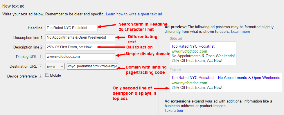 Building an Effective PPC Ad
