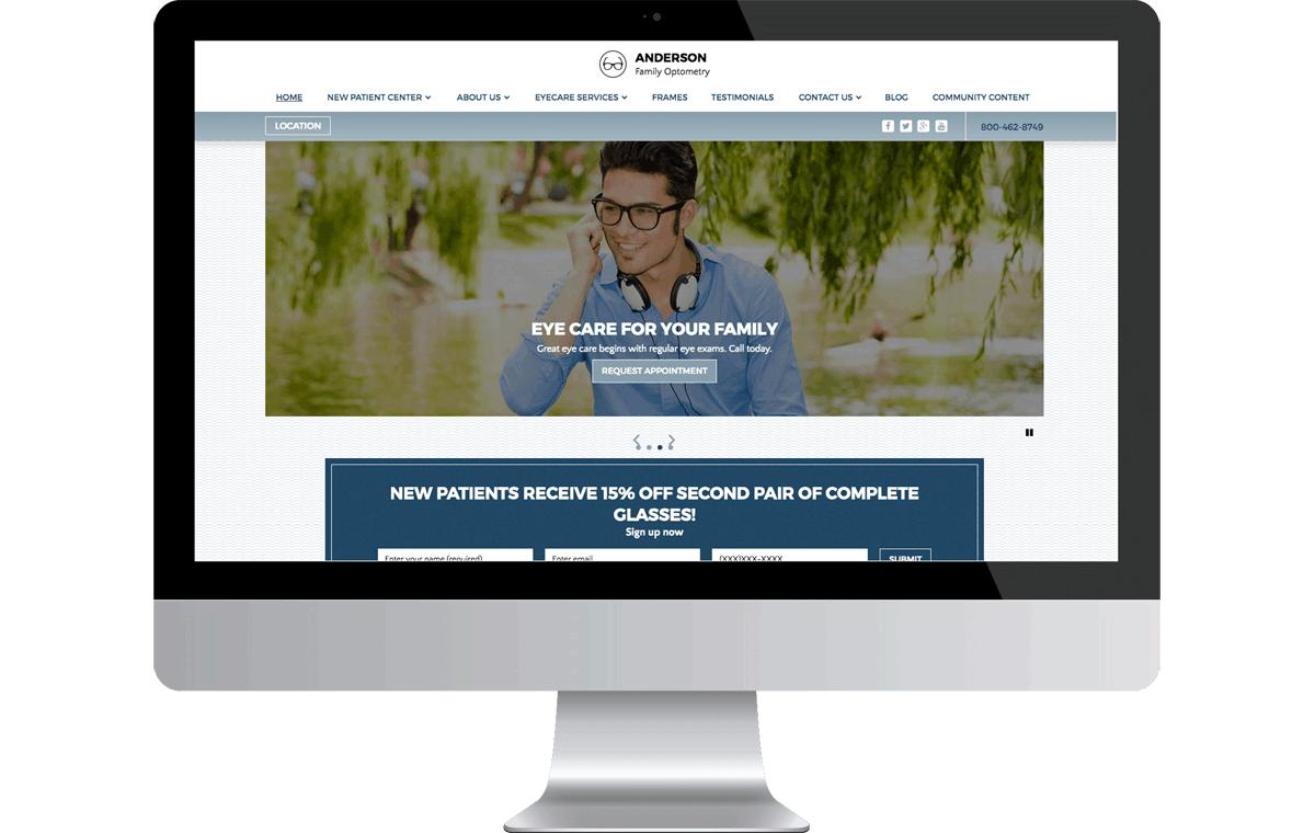 Marketing Made For Optometrists » iMatrix - Optometrist