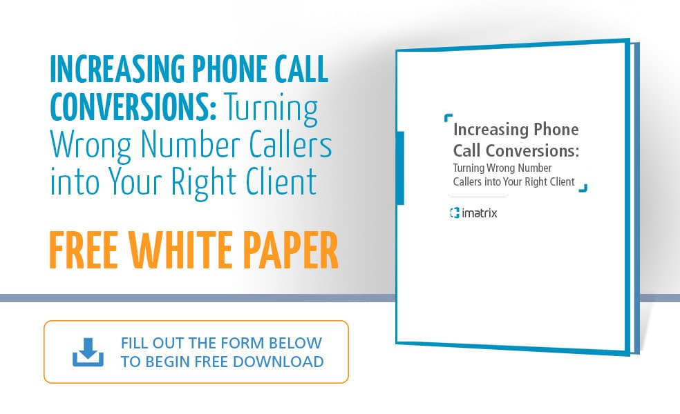 Increasing Phone Call Conversions - E-Book