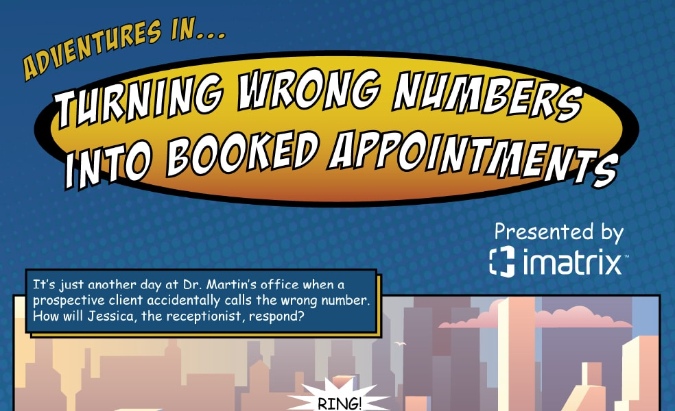 Turning Wrong Numbers Into Booked Appointments Infographic