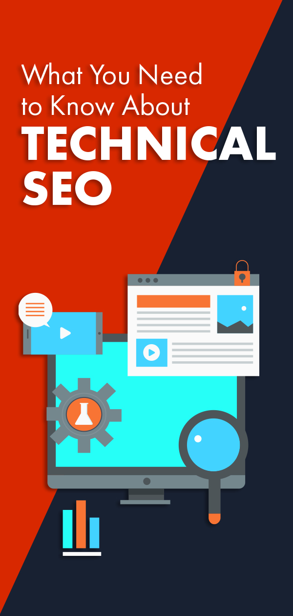 What is technical SEO, anyway? Stay tuned while we answer that question and go over five crucial SEO basics. #seo #technicalseo #website