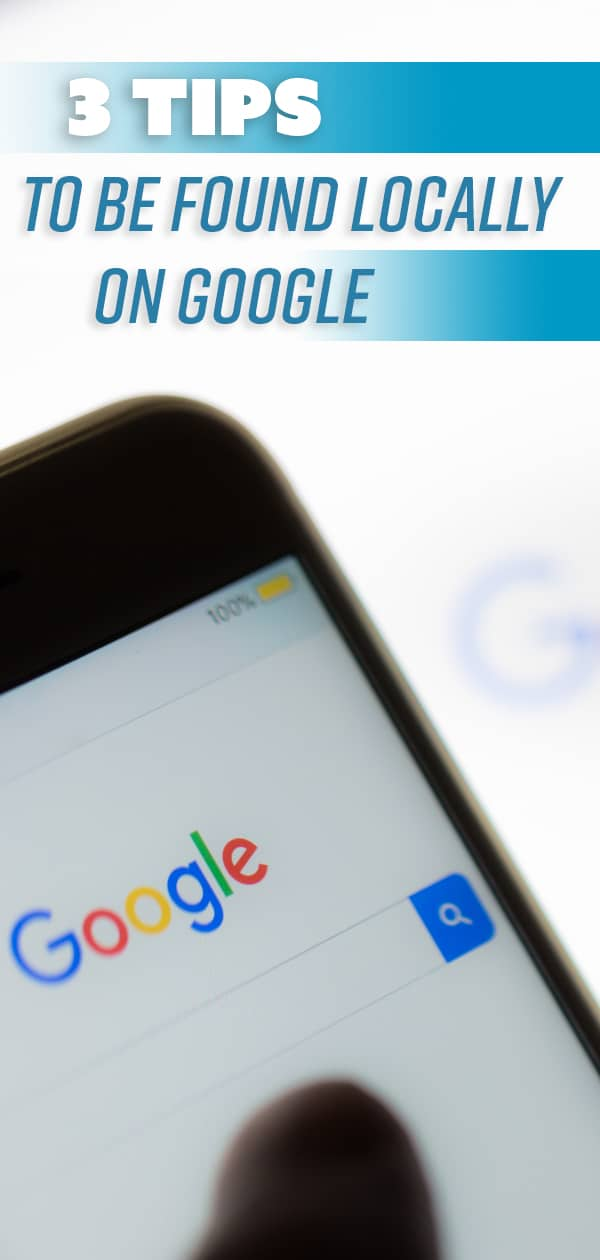 Where your website shows up on the search engine results page can determine how much traffic your business generates. Check out these 3 helpful tips for customers to find your local business on Google. #SEO #optimization #googleranking #localbusiness