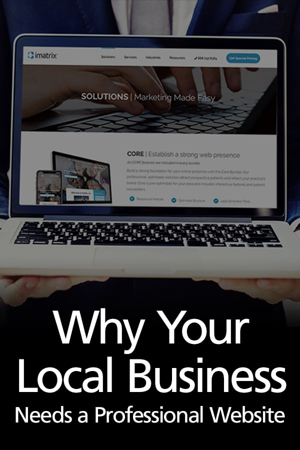 A professional website is more important for small businesses than ever. Learn the top 5 reasons why. #websites #smallbusiness #smallbusinessmarketing