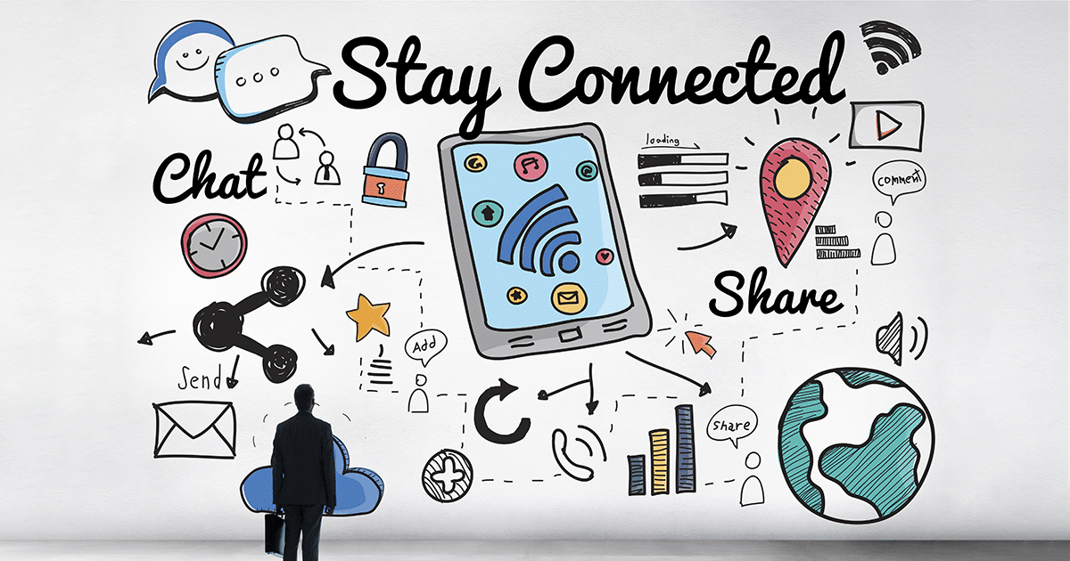 stay socially connected
