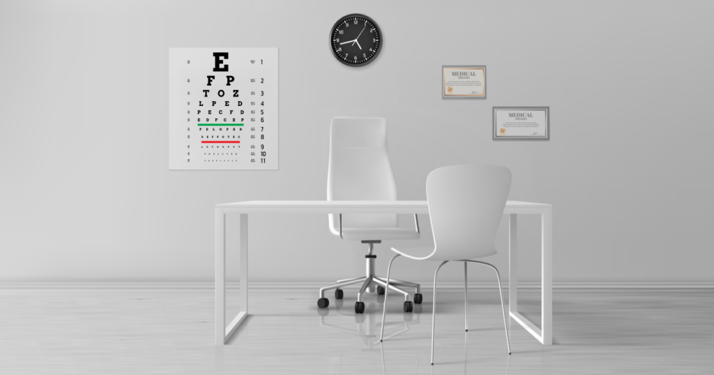 eye care office featured
