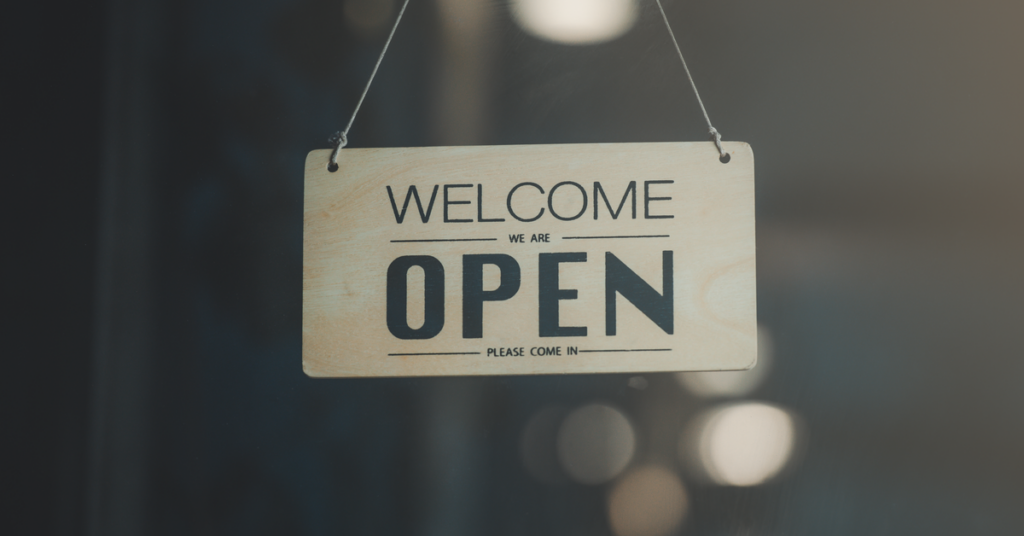 Let patients know you're open for business