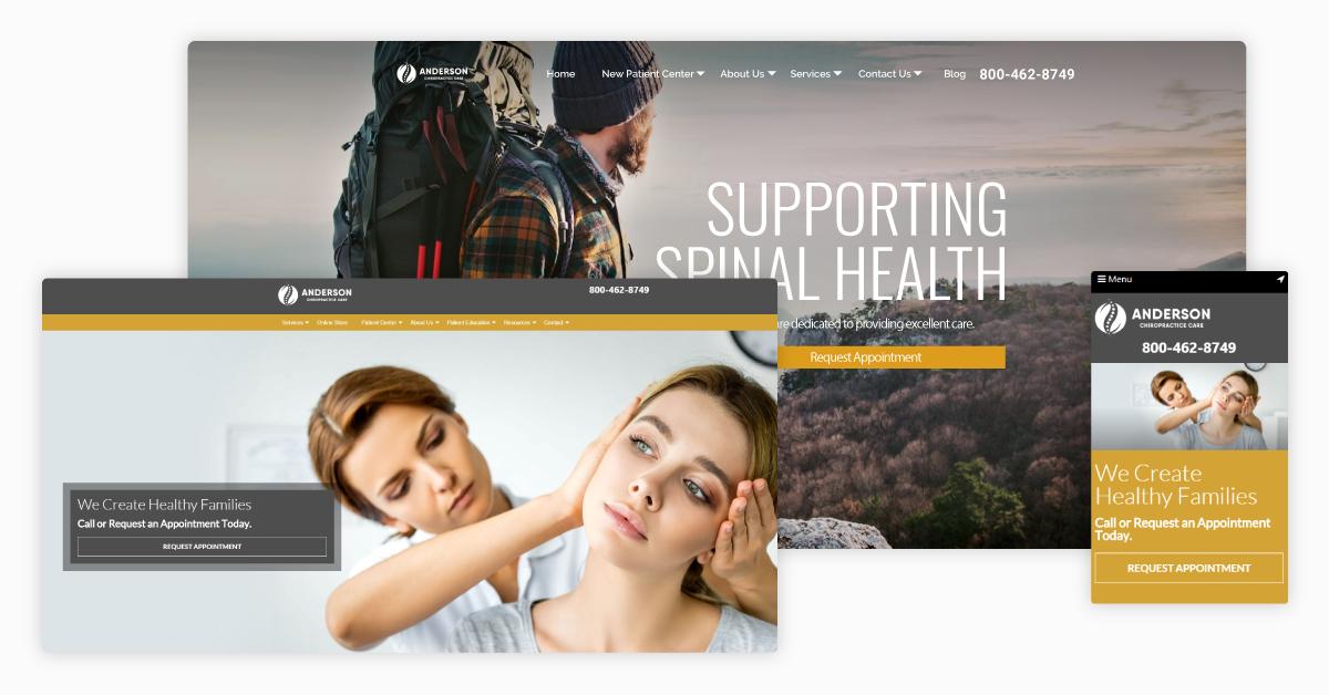 7 Best Chiropractic Website Trends for 2021