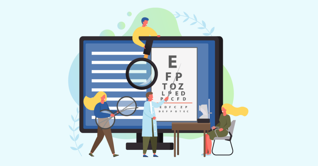 Increase your organic traffic with an optometry website design
