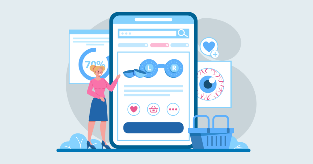 optometrist advertising ideas using social media