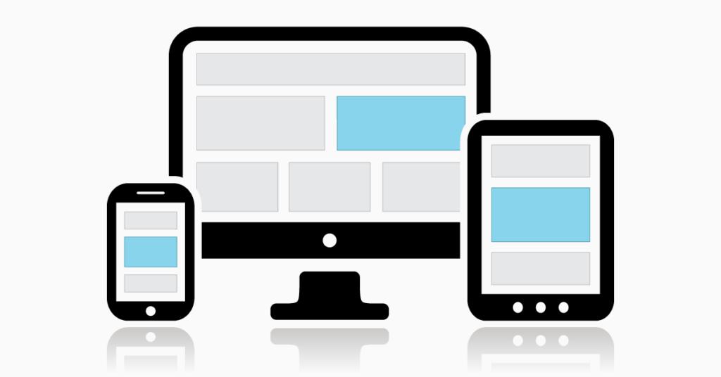 mobile responsive optical websites