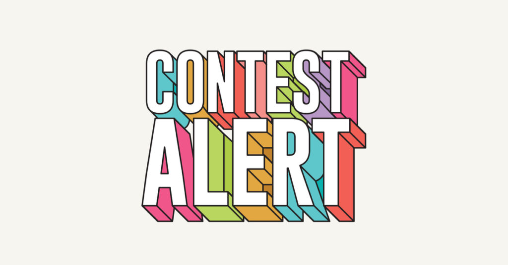 A contest notification.