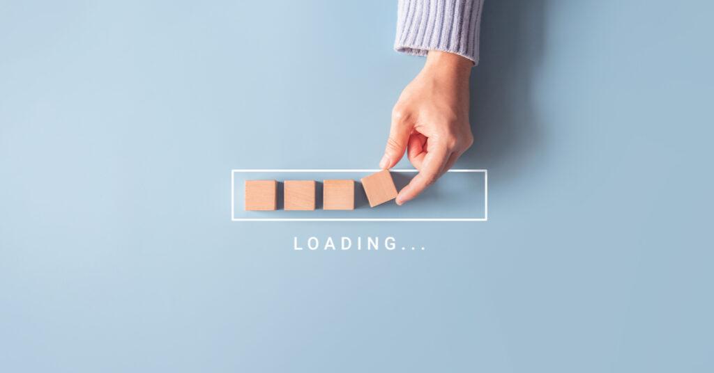 A loading URL.