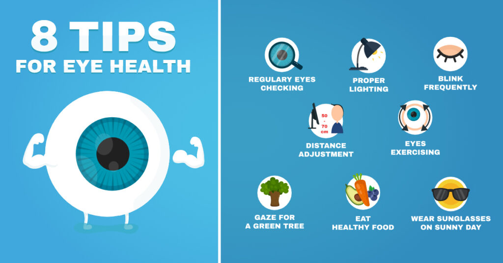 Vision Care Illustration & Infographic
